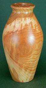 Image showing an example of a cherry hollow form vessel