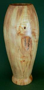 Image showing an example of a Sycamore hollow form vessel